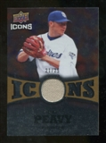 2009 Upper Deck Icons Icons Jerseys Gold #JP Jake Peavy /25