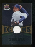 2009 Upper Deck Icons Icons Jerseys Gold #JZ Joel Zumaya /25