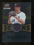 2009 Upper Deck Icons Icons Jerseys Gold #PK Paul Konerko /25