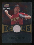 2009 Upper Deck Icons Icons Jerseys Gold #RO Roy Oswalt /25