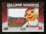 2012 Upper Deck College Mascot Manufactured Patch #CM32 Lil Red D