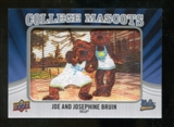 2012 Upper Deck College Mascot Manufactured Patch #CM51 Joe and Josephine Bruin A