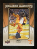 2013 Upper Deck College Mascot Manufactured Patch #CM61 Smokey D
