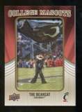 2013 Upper Deck College Mascot Manufactured Patch #CM65 Bearcat D
