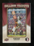 2013 Upper Deck College Mascot Manufactured Patch #CM67 Renegade D