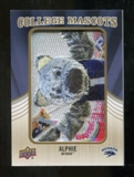 2013 Upper Deck College Mascot Manufactured Patch #CM68 Alphie D