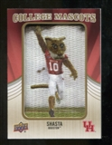 2013 Upper Deck College Mascot Manufactured Patch #CM69 Shasta D