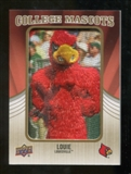 2013 Upper Deck College Mascot Manufactured Patch #CM72 Louie D