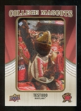 2013 Upper Deck College Mascot Manufactured Patch #CM74 Testudo D