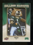 2013 Upper Deck College Mascot Manufactured Patch #CM80 Rufus D