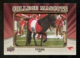 2013 Upper Deck College Mascot Manufactured Patch #CM83 Peruna D