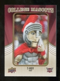 2013 Upper Deck College Mascot Manufactured Patch #CM85 T-Roy D