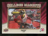 2013 Upper Deck College Mascot Manufactured Patch #CM87 Utah Swoop D