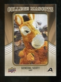 2013 Upper Deck College Mascot Manufactured Patch #CM91 General Scott C