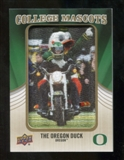 2013 Upper Deck College Mascot Manufactured Patch #CM115 Oregon Duck B