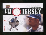 2010 Upper Deck UD Game Jersey #CR Carl Crawford