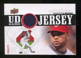 2010 Upper Deck UD Game Jersey #FL Francisco Liriano