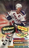 1995/96 Topps Series 1 Hockey Hobby Box