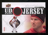 2010 Upper Deck UD Game Jersey #SD Stephen Drew