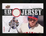 2010 Upper Deck UD Game Jersey #TH Travis Hafner
