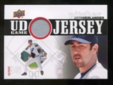 2010 Upper Deck UD Game Jersey #VE Justin Verlander
