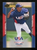 2009/10 Upper Deck USA Baseball #USA2 Christian Colon