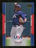 2009/10 Upper Deck USA Baseball #USA7 Michael Choice