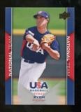 2009/10 Upper Deck USA Baseball #USA20 Tony Zych