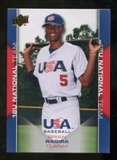 2009/10 Upper Deck USA Baseball #USA36 Brian Ragira