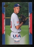 2009/10 Upper Deck USA Baseball #USA38 Kyle Ryan