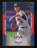 2009/10 Upper Deck USA Baseball #USA48 Cory Geisler