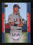 2009/10 Upper Deck USA Baseball #USA59 JoMarcos Woods