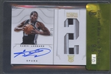 2012/13 Panini National Treasures #114 Kawhi Leonard Jersey Number Rookie Patch Auto #08/25 BGS 9.5 RCR