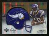 2007 Upper Deck Sweet Spot Rookie Signatures Gold 29 #139 Sidney Rice Autograph /29