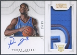 2012/13 Panini National Treasures #178 Perry Jones Rookie Patch Auto #15/99