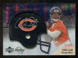2007 Upper Deck Sweet Spot Signatures Silver 25 #CL2 Chris Leak Autograph /25