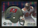 2007 Upper Deck Sweet Spot Signatures Silver #CW2 Cadillac Williams /25