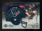 2007 Upper Deck Sweet Spot Signatures Silver 25 #JJ2 Jacoby Jones Autograph /25