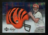 2007 Upper Deck Sweet Spot Signatures Silver #RO2 Jeff Rowe /25