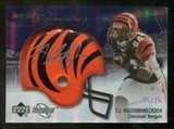 2007 Upper Deck Sweet Spot Signatures Silver 25 #TH2 T.J. Houshmandzadeh Autograph /25