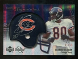 2007 Upper Deck Sweet Spot Signatures Gold #VBB Bernard Berrian /15