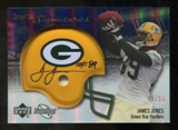 2007 Upper Deck Sweet Spot Signatures Gold #VJO James Jones /15