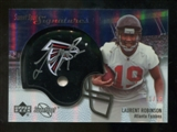 2007 Upper Deck Sweet Spot Signatures Gold #VLR Laurent Robinson /15