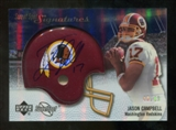 2007 Upper Deck Sweet Spot Signatures Silver 49 #JC2 Jason Campbell Autograph /49