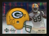 2007 Upper Deck Sweet Spot Signatures Silver #JO2 James Jones /49