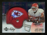 2007 Upper Deck Sweet Spot Signatures Silver #LJ Larry Johnson /49