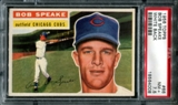 1956 Topps Baseball #66 Bob Speake PSA 7.5 (NM+) *4008