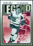 2009/10 OPC O-Pee-Chee #561 Alex Delvecchio Legends