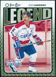2009/10 OPC O-Pee-Chee #562 Rod Langway Legends