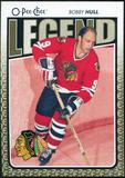 2009/10 OPC O-Pee-Chee #566 Bobby Hull Legends